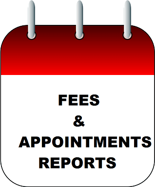 FEES AND APPOINTMENTS REPORTS ICON